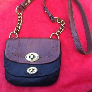 Fossil Genuine leather  Small Crossbody bag